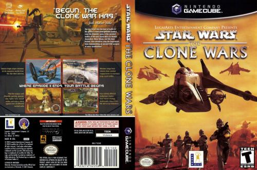 Star Wars The Clone Wars Cover - Click for full size image