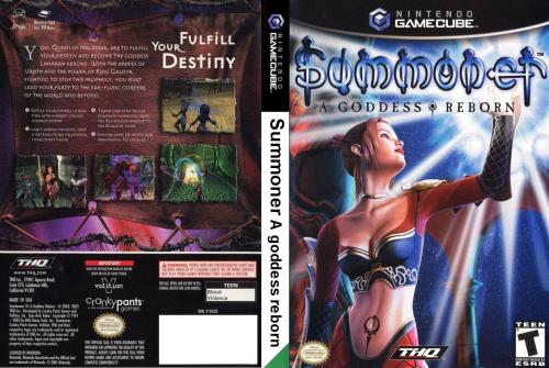 Summoner A Goddess Reborn Cover - Click for full size image