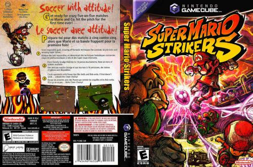 Super Mario Strikers Cover - Click for full size image