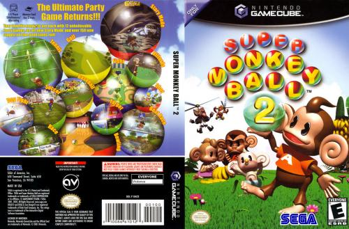 Super Monkey Ball 2 (Europe) (En,Fr,De,Es,It) Cover - Click for full size image