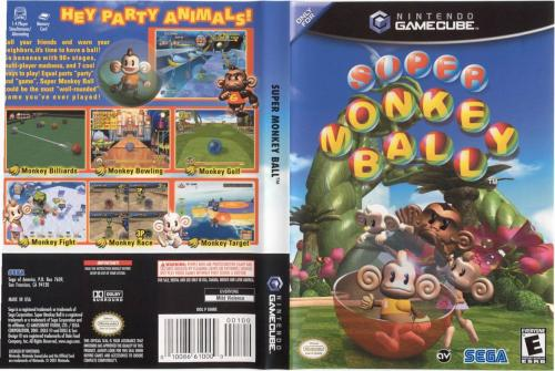 Super Monkey Ball Cover - Click for full size image