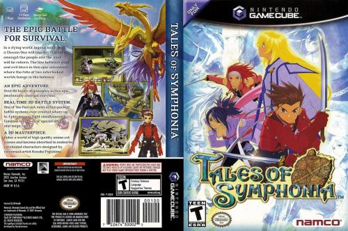 Tales Of Symphonia (Disc 1) Cover - Click for full size image