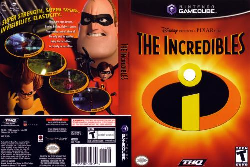 The Incredibles Cover - Click for full size image