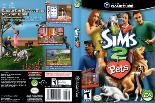 The Sims 2 Pets Cover - Click for full size image