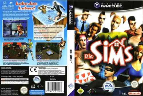 The Sims Cover - Click for full size image
