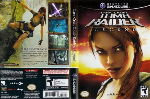 Tomb Raider Legend Cover - Click for full size image
