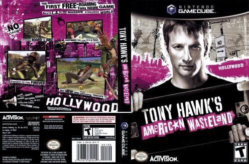 Tony Hawks American Wasteland Cover - Click for full size image