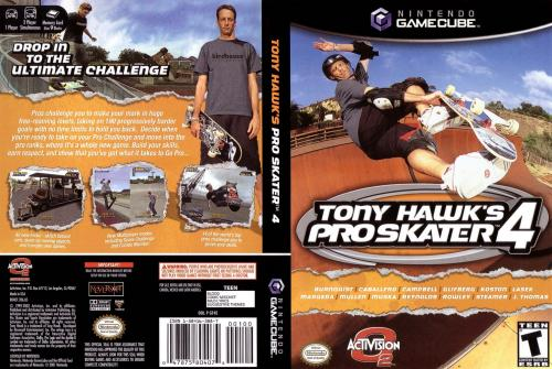 Tony Hawks Pro Skater 4 Cover - Click for full size image