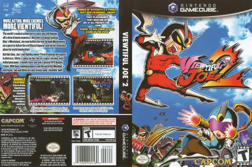 Viewtiful Joe 2 (Europe) (En,Fr,De,Es,It) Cover - Click for full size image