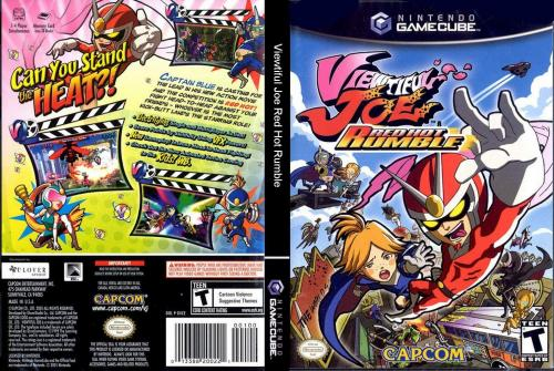 Viewtiful Joe Red Hot Rumble Cover - Click for full size image