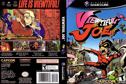 Viewtiful Joe (Europe) (Promo) Cover - Click for full size image