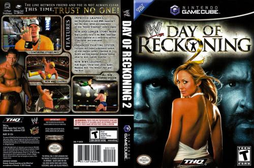 WWE Day Of Reckoning 2 Cover - Click for full size image