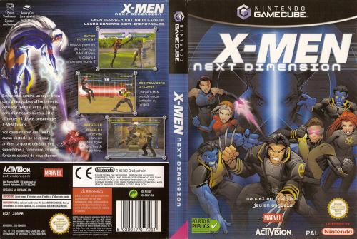X-Men Next Dimension Cover - Click for full size image