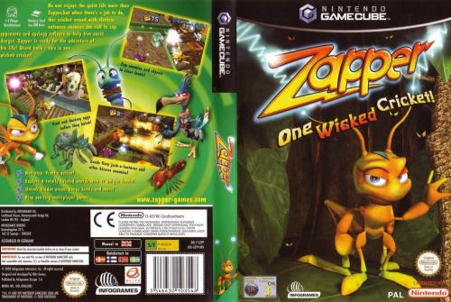 Zapper One Wicked Cricket Cover - Click for full size image