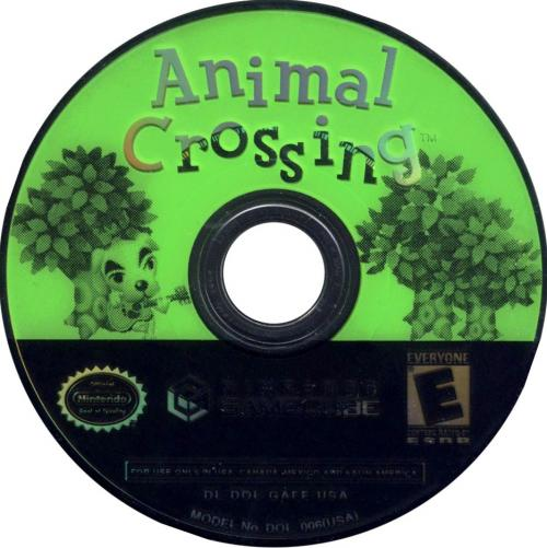 Animal Crossing (Europe) (En,Fr,De,Es,It) Disc Scan - Click for full size image
