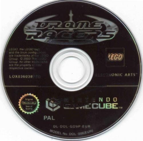 Drome Racers Disc Scan - Click for full size image
