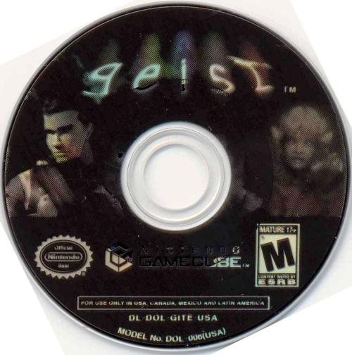 Geist (Europe) (En,Fr,De,Es,It) Disc Scan - Click for full size image
