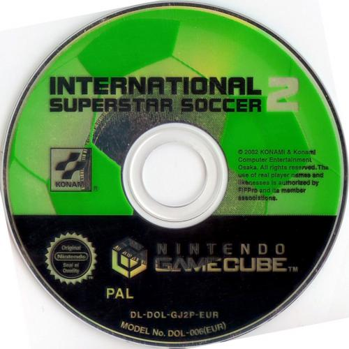 International Superstar Soccer 2 (Europe) (En,Fr,De,Es,It) Disc Scan - Click for full size image