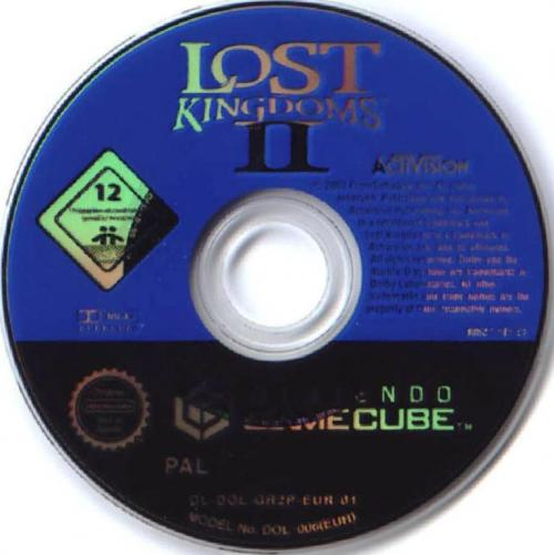 Lost Kingdoms 2 Disc Scan - Click for full size image