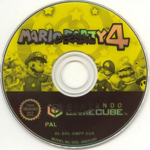 Mario Party 4 Disc Scan - Click for full size image