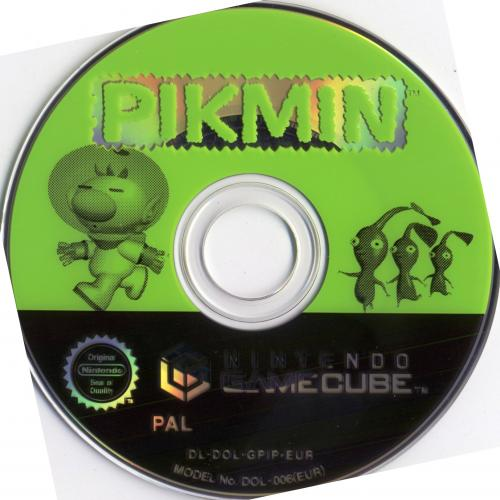 Pikmin (Europe) (En,Fr,De,Es,It) Disc Scan - Click for full size image