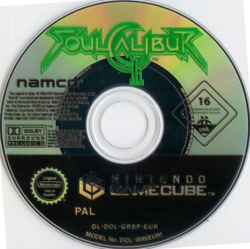 Soul Calibur 2 Disc Scan - Click for full size image