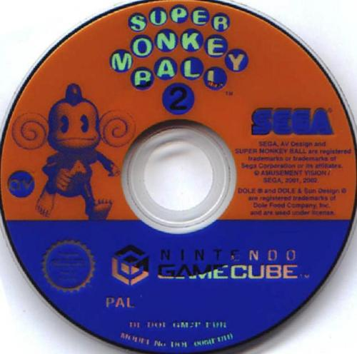 Super Monkey Ball 2 (Europe) (En,Fr,De,Es,It) Disc Scan - Click for full size image
