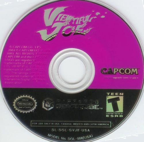 Viewtiful Joe (Germany) (En,Fr,De,Es,It) (Demo) Disc Scan - Click for full size image