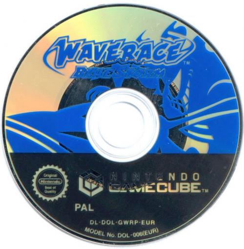 Wave Race Blue Storm Disc Scan - Click for full size image