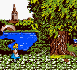 Alice in Wonderland (Europe) (En,Fr,De,Es) In game screenshot