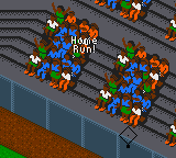 All-Star Baseball 2000 (USA, Europe) In game screenshot