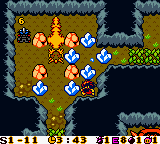 Bomberman Max - Red Challenger (USA) In game screenshot