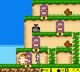 Bugs Bunny - Crazy Castle 3 (Japan) In game screenshot