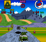 Chiki Chiki Machine Mou Race (Japan) In game screenshot