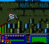 Evel Knievel (USA) In game screenshot