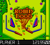 Hollywood Pinball (Japan) In game screenshot