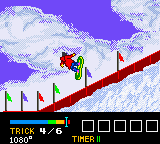Hyper Olympic - Winter 2000 (Japan) In game screenshot