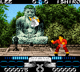 International Karate 2000 (Europe) In game screenshot
