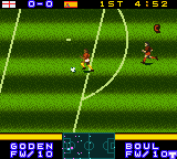 International Superstar Soccer 2000 (USA) In game screenshot