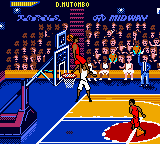 NBA Hoopz (USA) In game screenshot