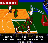 NBA In the Zone 2000 (USA) In game screenshot