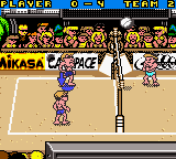 Power Spike - Pro Beach Volleyball (USA) In game screenshot