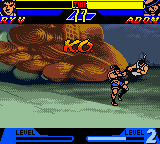 Street Fighter Alpha - Warriors' Dreams (Japan) In game screenshot
