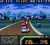 Top Gear Pocket 2 (Japan) In game screenshot