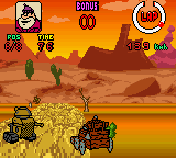 Wacky Races (Europe) (En,Fr,De,Es,It,Nl) In game screenshot
