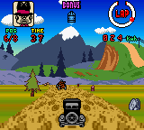 Wacky Races (USA) (En,Fr,Es) In game screenshot