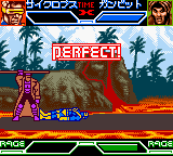 X-Men - Mutant Academy (Japan) In game screenshot