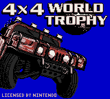 4x4 World Trophy (Europe) (En,Fr,De,Es,It) Title Screen