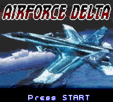AirForce Delta (USA) Title Screen