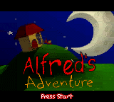 Alfred's Adventure (Europe) (En,Fr,De,Es,It) Title Screen